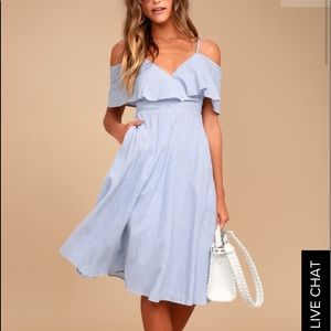 Dresses & Skirts - Off the Shoulder Midi Dress